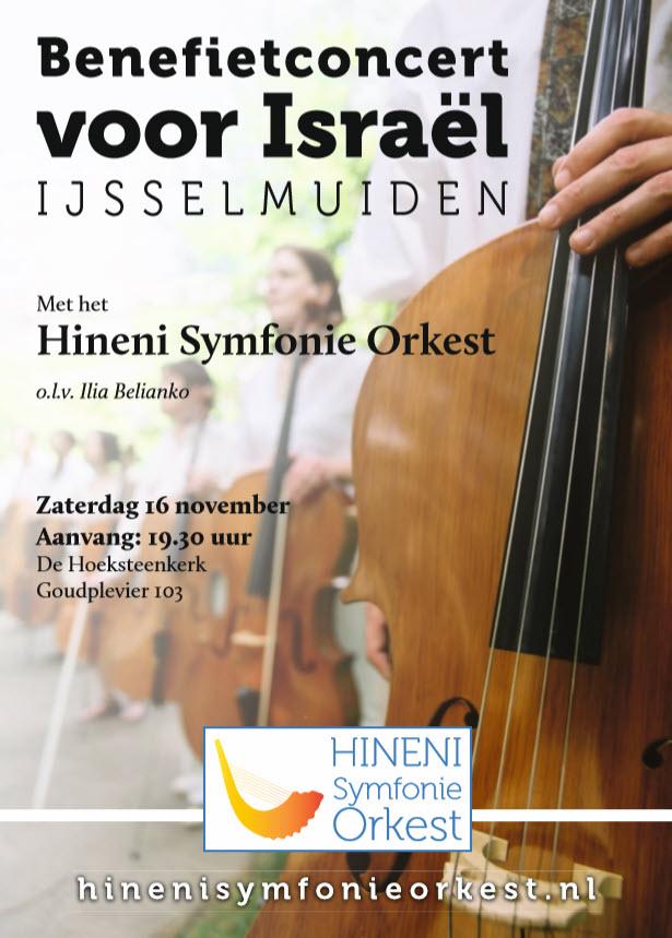 Hineni Symfonie Orkest - Concert in IJsselmuiden 2019